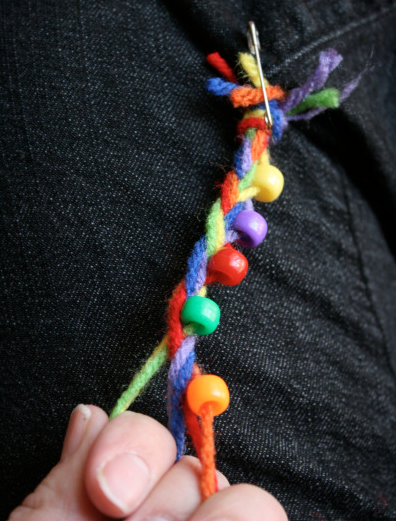 Making and Sharing Rainbow Friendship Bracelets Make and Takes