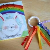 Rainbow Ribbon Rings