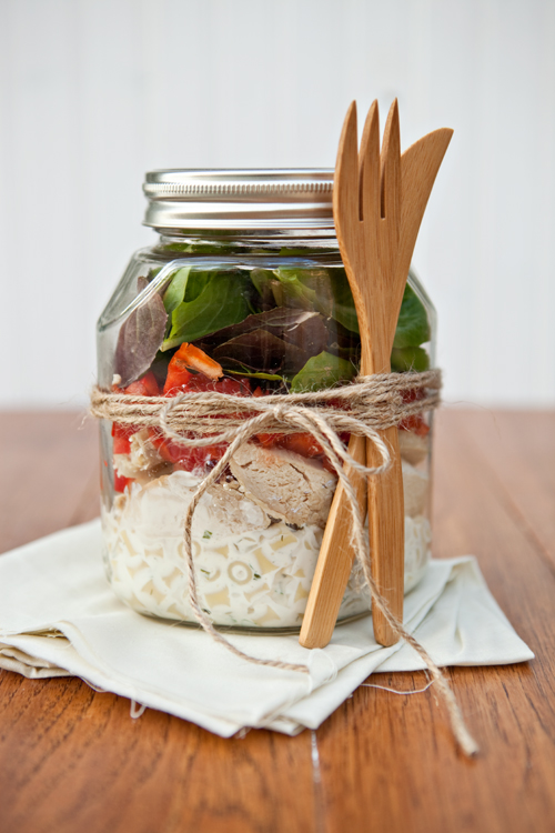 Ranch-Chicken-Salad-in-a-Jar