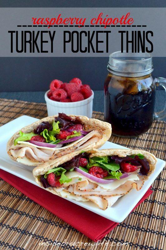 Raspberry Chipotle Turkey Pocket Thins