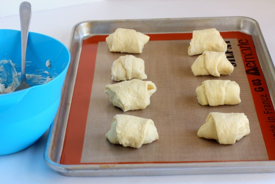 Ready to bake turkey roll-ups