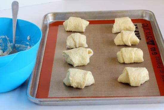 Ready to bake turkey roll-ups