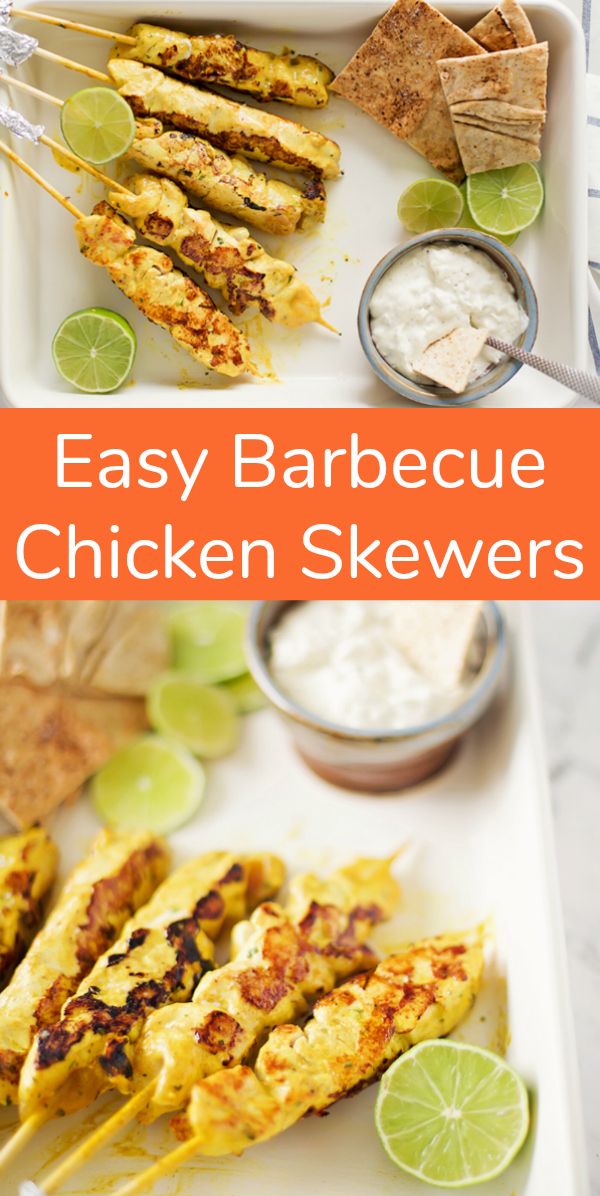 Recipe for Easy Barbecue Chicken Skewers