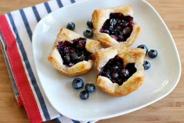 Recipe for Mini Blueberry Muffin Tin Tarts