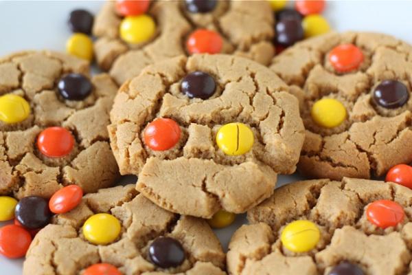 peanut butter banana honey cookies peanut butter snickers cookies