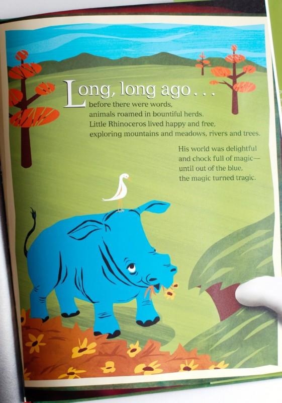 Rhino Childrens Book by LeVar Burton