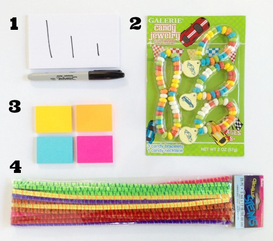 12 Simple Activities for Traveling with Kids supplies