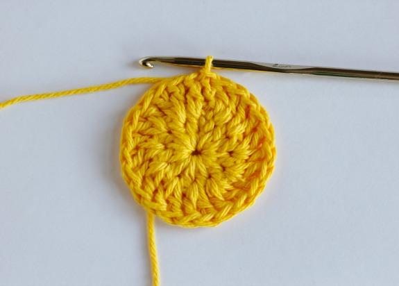 Round 2 for Crochet Sun Coasters