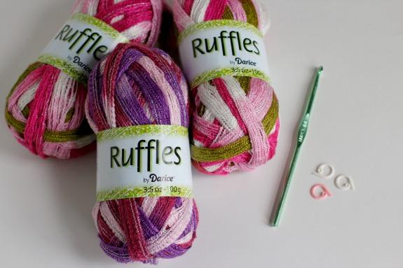 Ruffles Yarn by Darice