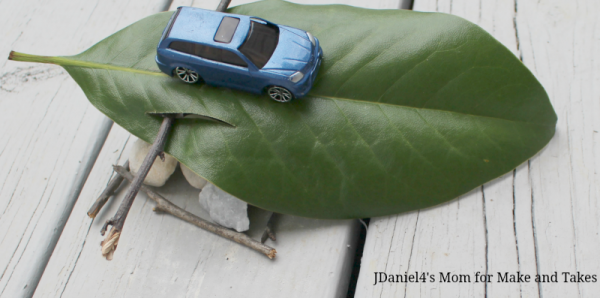 SCIENCE EXPERIMENTS FOR KIDS – EXPLORING RAMPS - Car on a ramp