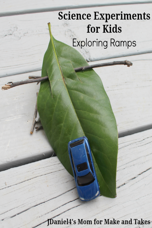 SCIENCE EXPERIMENTS FOR KIDS – EXPLORING RAMPS Pinterest
