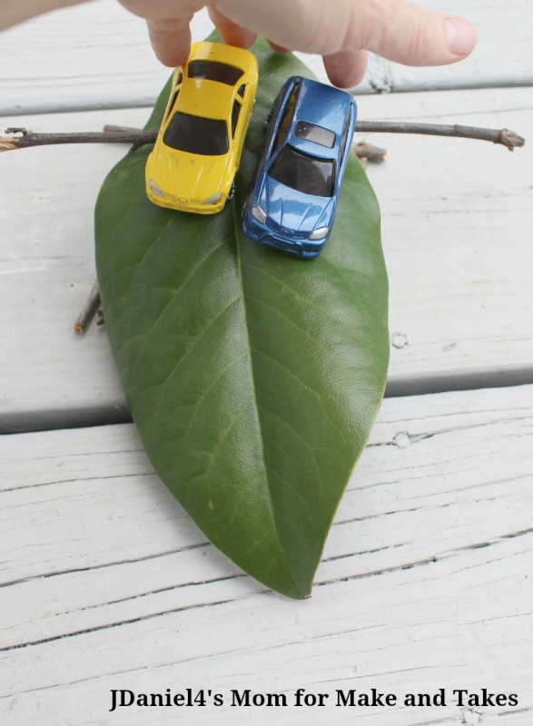 SCIENCE EXPERIMENTS FOR KIDS – EXPLORING RAMPS - Two Cars