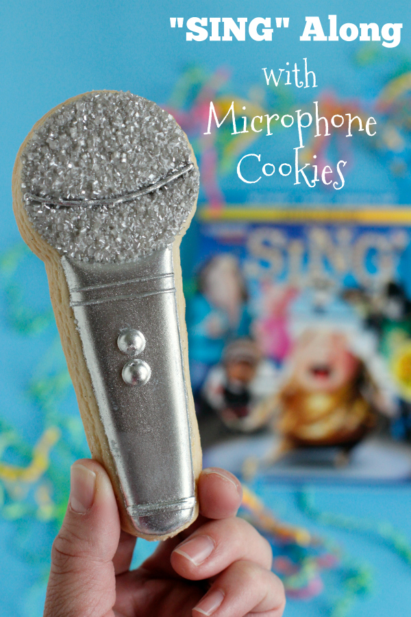 """SING"" Along with Microphone Cookies"