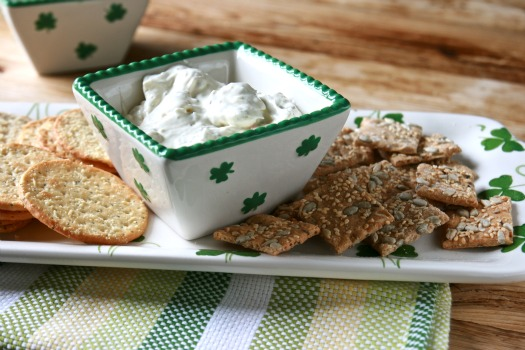 Saint Patrick's Day Fresh Herb Dip