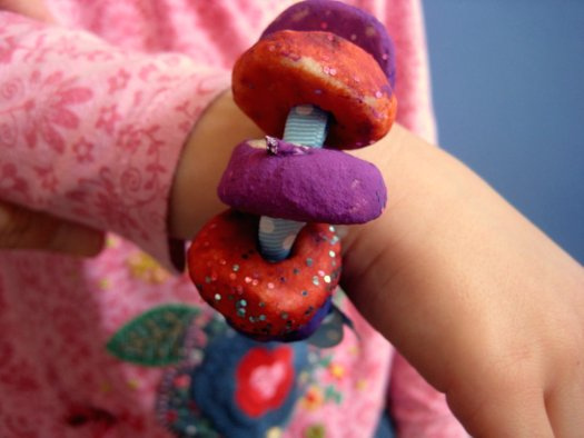 Salt Dough Bracelet Beads