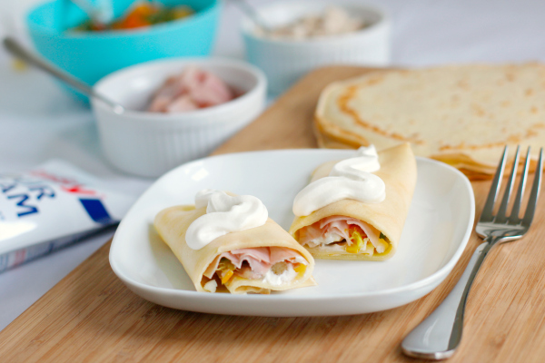 Savory Crepes Recipe for Dinner
