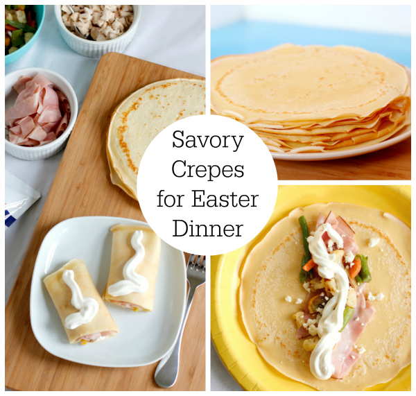 Savory Crepes for an Easter Dinner Bar