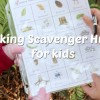 Scavenger Hunt Printable for Kids @makeandtakes.com