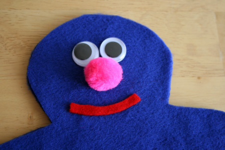 Sesame Street Grover Craft