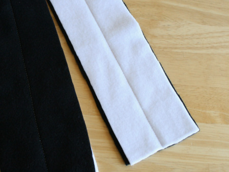 Sewing a Fleece Scarf