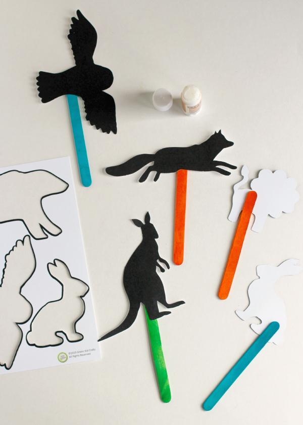 Shadow Puppet Craft