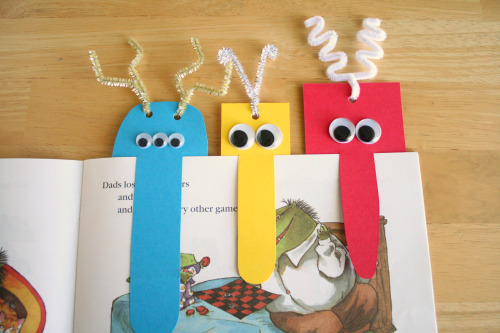 Silly Handmade Monster Bookmark