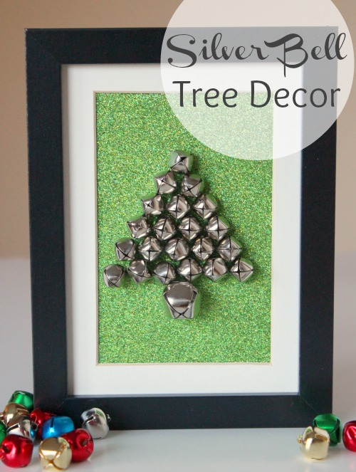 Silver Bell Tree Decor for the Holidays makeandtakes.com