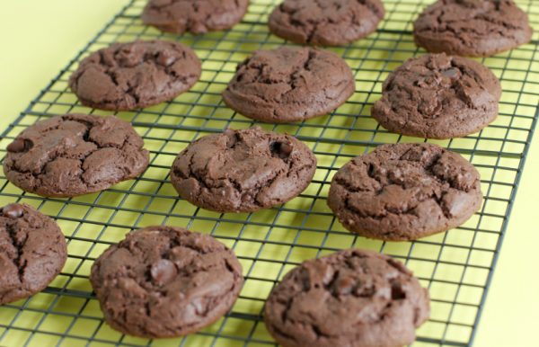 Simple Chocolate Cake Mix Cookies
