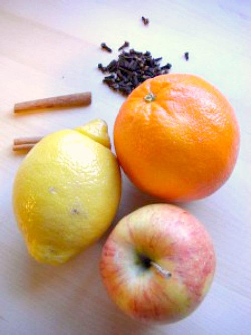 Simple Holiday Potpourri Recipe Ingredients