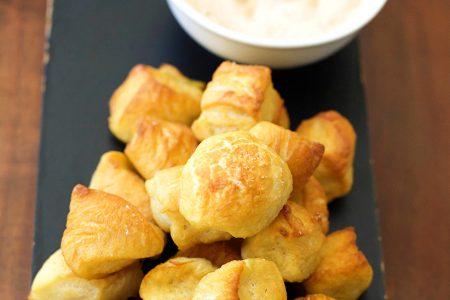 Simple Snackable Homemade Pretzel Bites