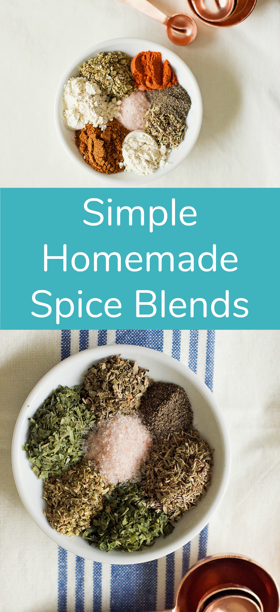 Simple Homemade Spice Blends to Make at Home