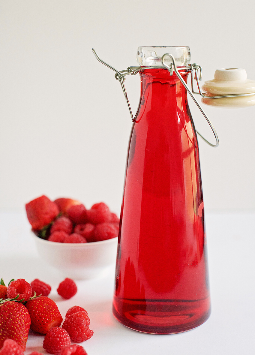 Simple Mixed Berry Syrup Recipe