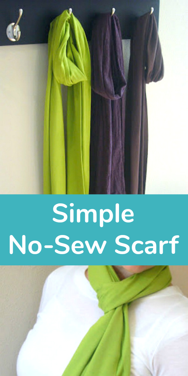 Simple No-Sew Scarf