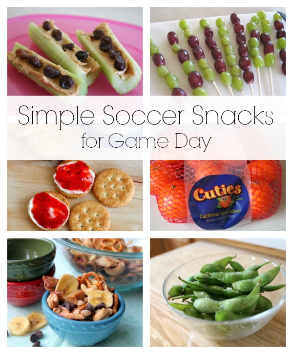 Simple Soccer Snacks for Game Day