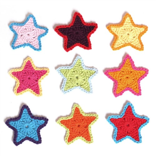 Crochet A Day Crochet Star Patterns Make And Takes