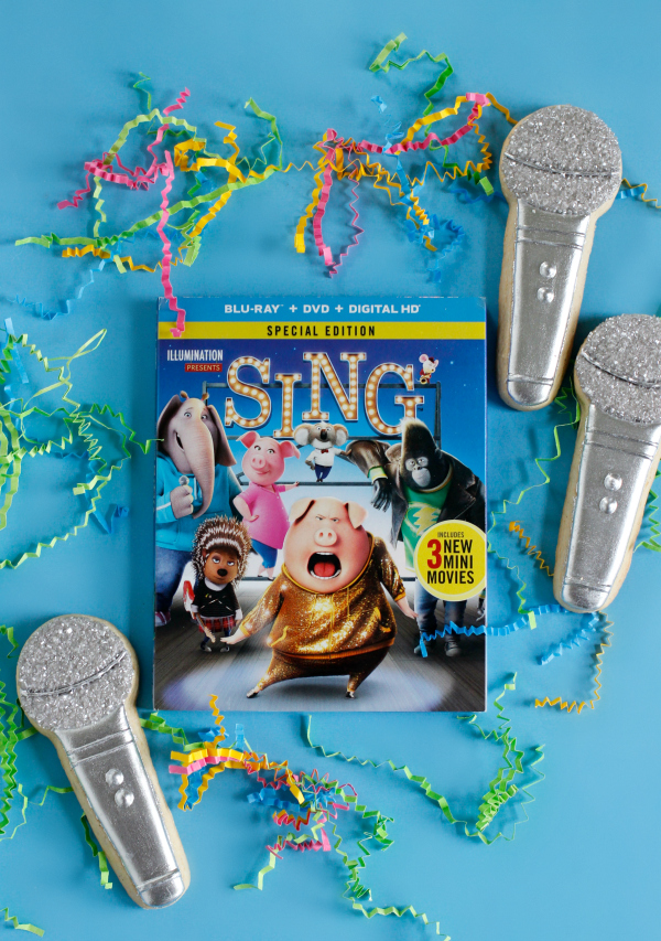 """SING"" and Microphone Cookies"