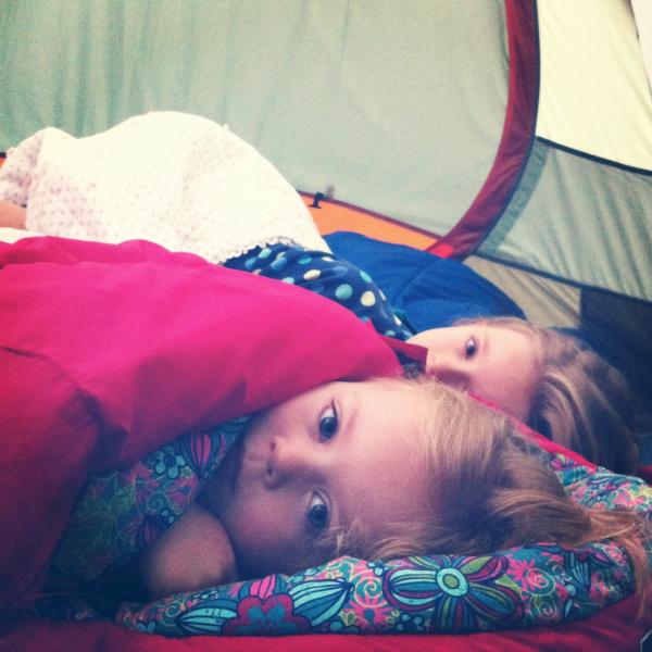 Sleeping with Mini Pillows While Camping