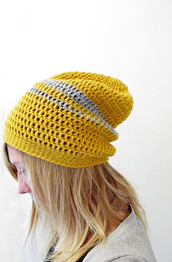 Slouch Beanie from @littlethingsblogged.com