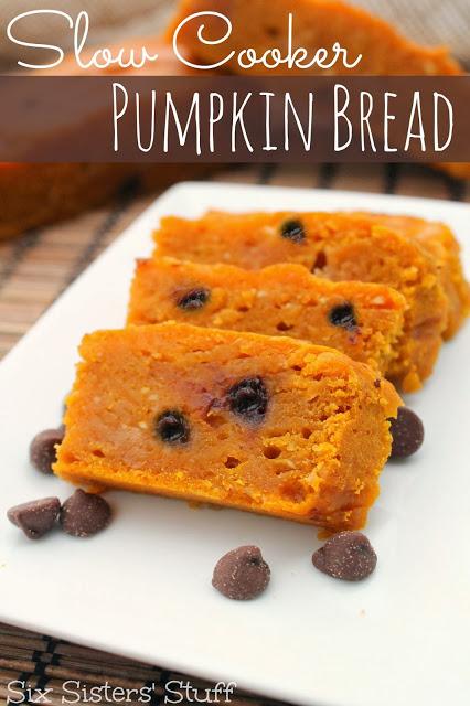 Slow Cooker Pumpkin Bread