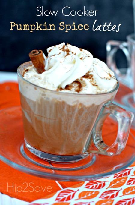 Slow Cooker Pumpkin Spice Latte Recipe