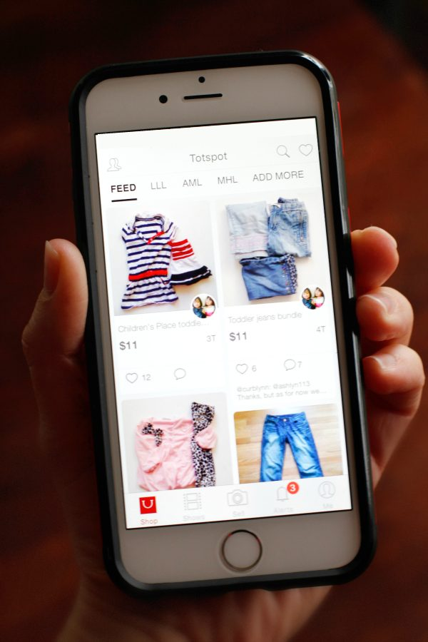 Smartphone Clothes Shopping with Totspot App