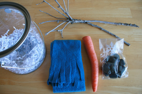 Snowman Kit Supplies