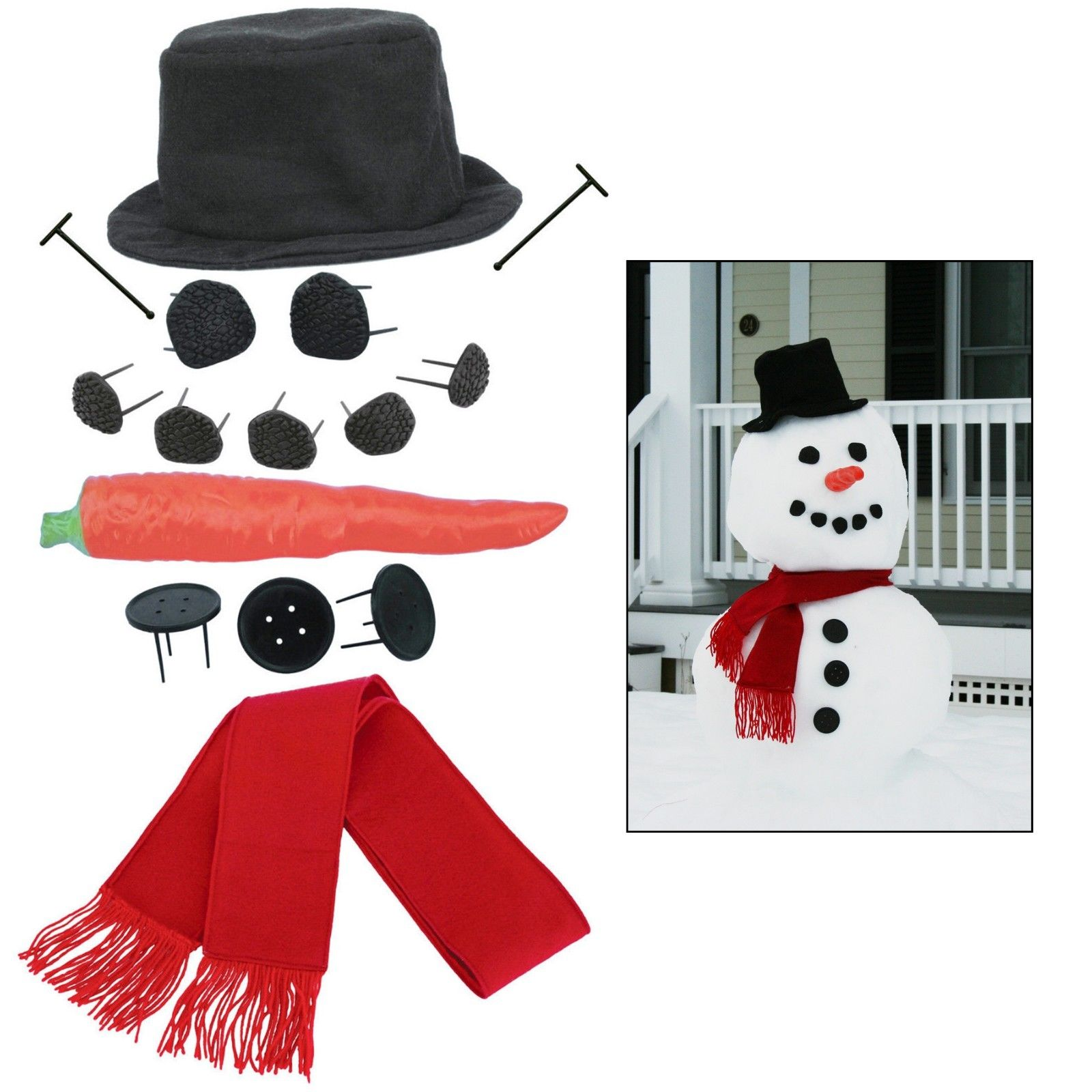 Snowman kit on @Ebay #followfindit