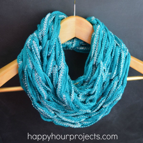 Spring Arm Knit Scarf