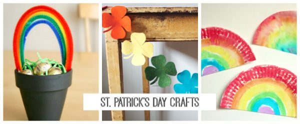St. Patrick's Day Crafts for Kids and Home