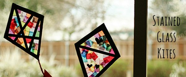 Stained Glass Kites to Make