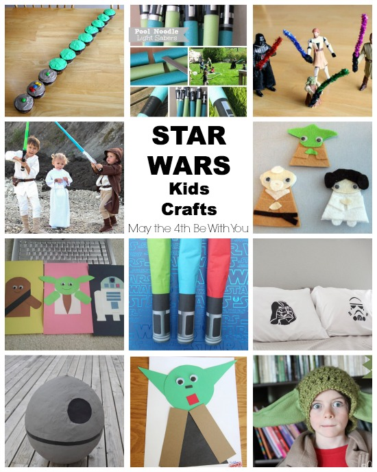 Star Wars Kids Crafts for May the 4th