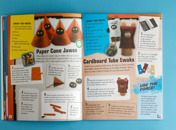 Star Wars Mania Craft Book