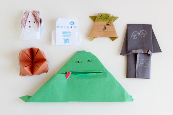 How To Make A Origami Yoda Easy