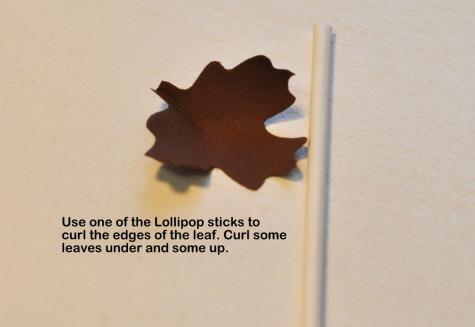 Step 4 Thanksgiving Table Favor Decoration